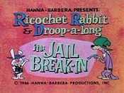 Jail Break-In Cartoon Character Picture
