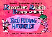 Red Riding Ricochet Cartoon Character Picture