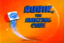 Rubik the Amazing Cube Episode Guide Logo