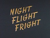 Night Flight Fright Cartoon Picture