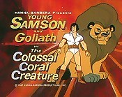 The Colossal Coral Creature Cartoon Picture