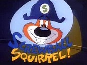 Screwball Squirrel Cartoon Picture