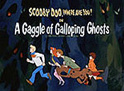 A Gaggle Of Galloping Ghosts Free Cartoon Picture