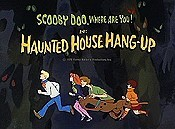 Haunted House Hang-Up Free Cartoon Picture