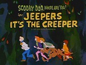Jeepers It's The Creeper Free Cartoon Picture