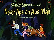 Never Ape An Ape Man Cartoon Picture