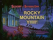 Rocky Mountain YIIII! Cartoon Character Picture