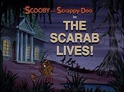 The Scarab Lives! Cartoon Character Picture