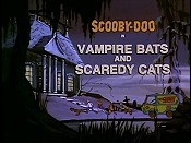 Vampire Bats And Scaredy Cats Cartoon Character Picture