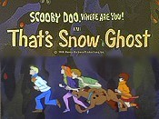 That's Snow Ghost Cartoon Picture