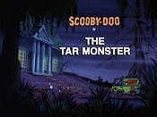 The Tar Monster Picture Into Cartoon