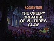 The Creepy Creature Of Vulture's Claw Free Cartoon Pictures