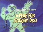 A Clue For Scooby Doo Cartoon Picture