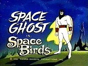 Space Birds Cartoon Picture