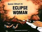 Eclipse Woman Cartoon Picture