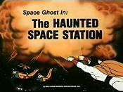 The Haunted Space Station Cartoon Picture
