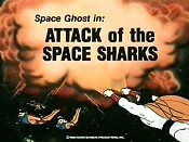Attack Of The Space Sharks Picture Into Cartoon