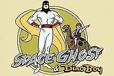 Space Ghost and Dino Boy  Logo