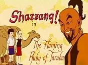 The Flaming Ruby Of Taruba Free Cartoon Picture
