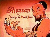 Quest for the Magic Lamp Cartoon Picture