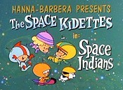 Space Indians Picture Into Cartoon