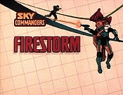 Firestorm Cartoon Picture
