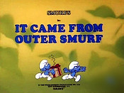 It Came From Outer Smurf Picture To Cartoon