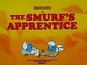 The Smurf's Apprentice Cartoon Picture