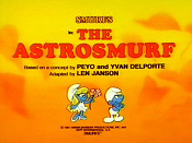 The Astrosmurf Free Cartoon Picture