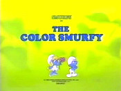 The Color Smurfy Pictures In Cartoon