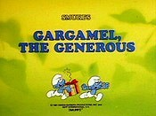 Gargamel The Generous Cartoon Picture