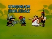 Gnoman Holiday Free Cartoon Picture