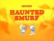 Haunted Smurf Cartoon Picture