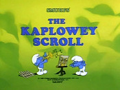 The Kaplowey Scroll Picture To Cartoon
