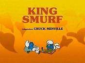 King Smurf Picture Into Cartoon