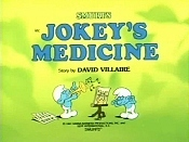 Jokey's Medicine Picture Into Cartoon