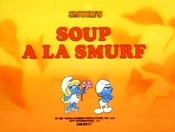 Soup A La Smurf Free Cartoon Pictures