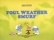 Foul Weather Smurf Cartoon Picture