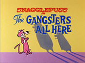 The Gangsters All Here The Cartoon Pictures