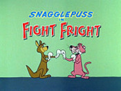 Fight Fright Picture Of Cartoon