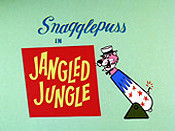 Jangled Jungle Picture Of Cartoon