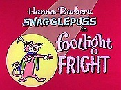 Footlight Fright Cartoon Funny Pictures