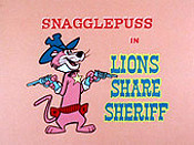 Lions Share Sheriff Cartoon Picture