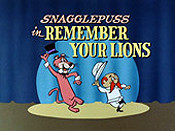 Remember Your Lions Cartoon Character Picture