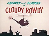Cloudy Rowdy Cartoon Picture