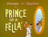 Prince Of A Fella' Cartoon Picture