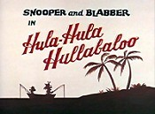 Hula-Hula Hullabaloo Picture Of Cartoon