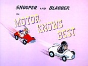 Motor Knows Best Cartoon Picture