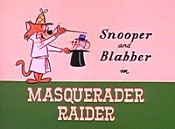 Masquerader Raider Cartoon Picture