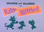 Baby Rattled Free Cartoon Picture